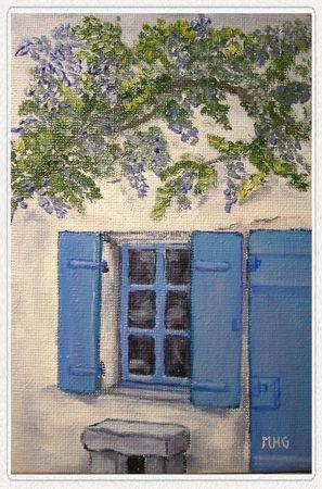 La Maison bleue...