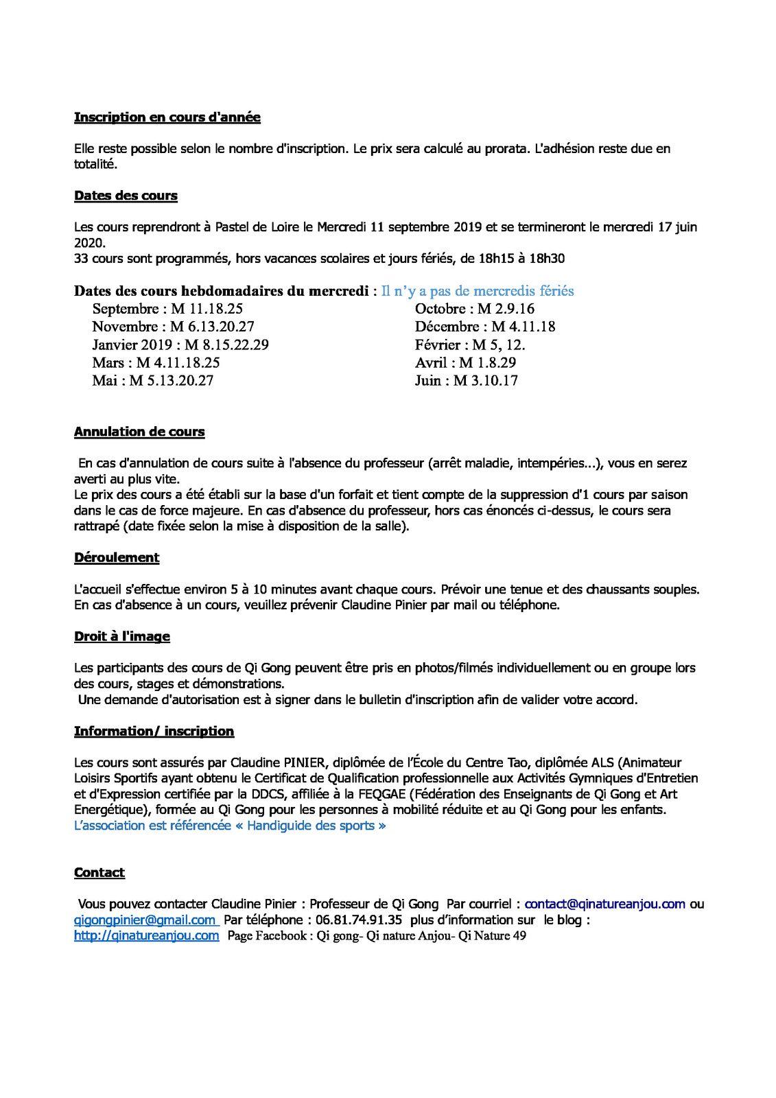 SAISON 2019 / 2020 Bouchemaine