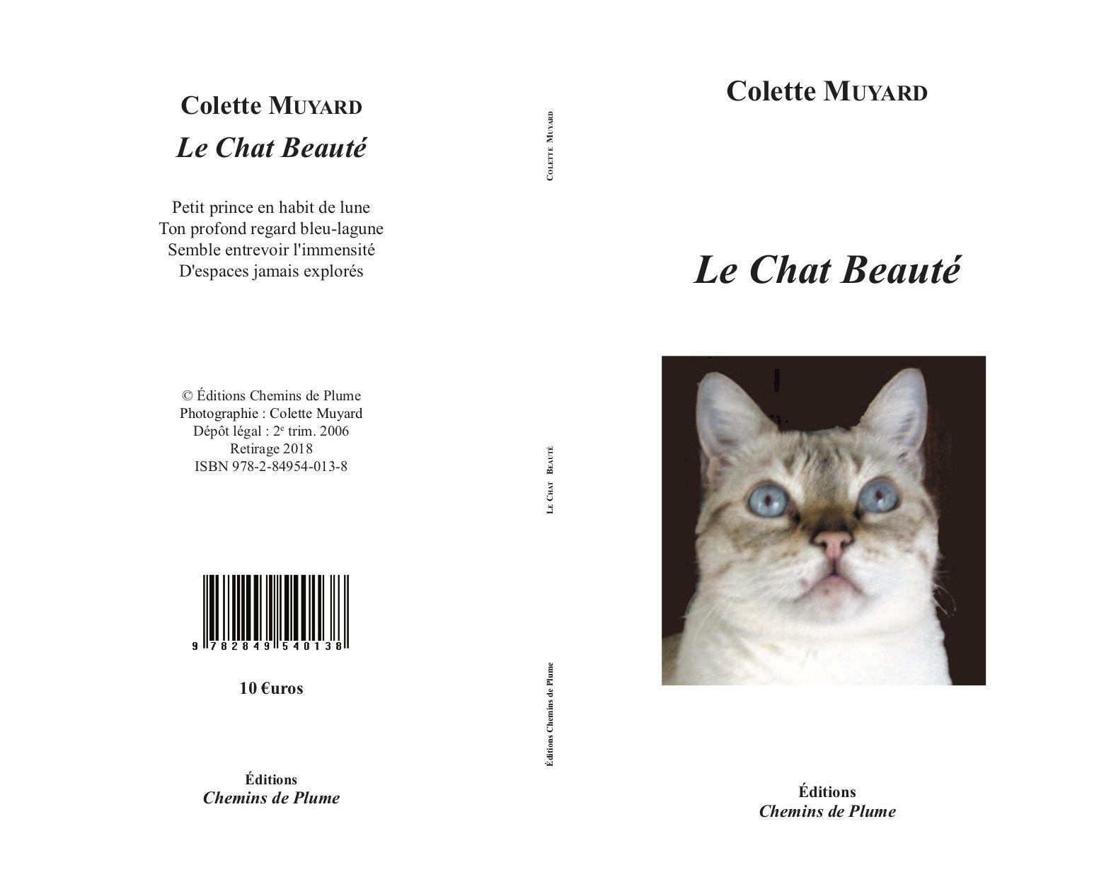 Le chat Beauté - Colette Muyard (retirage augmenté)