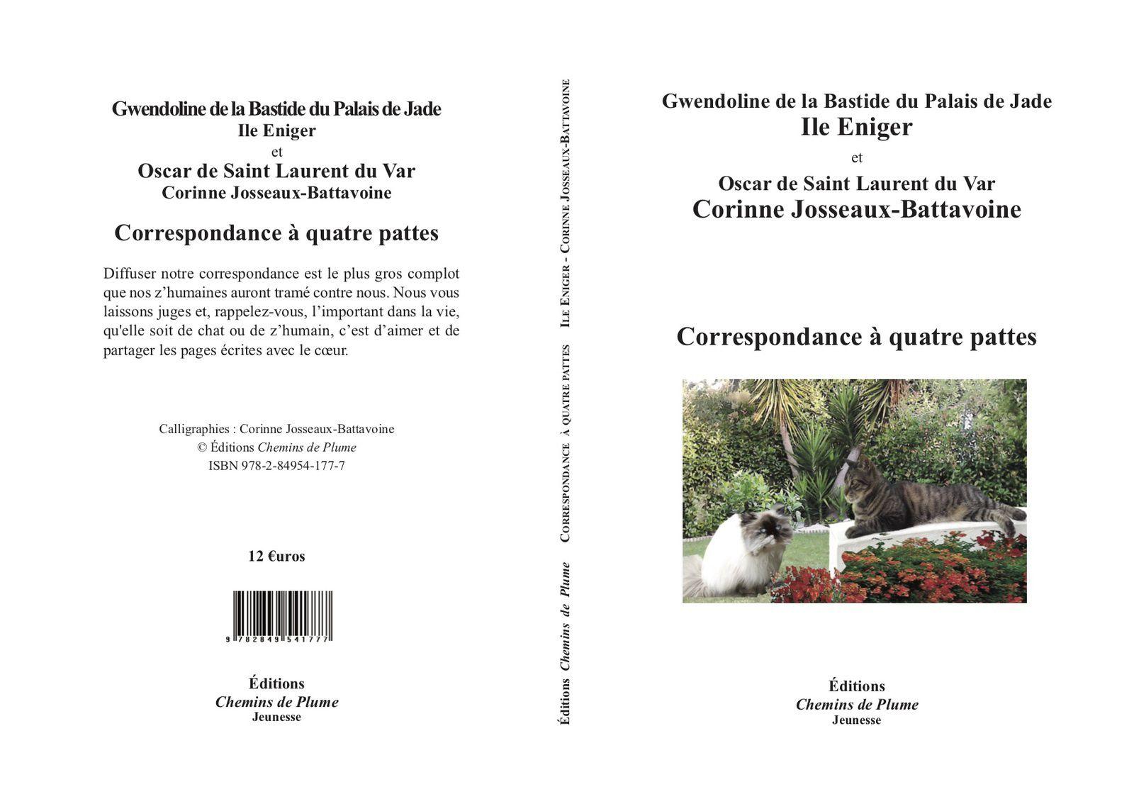 Gwendoline et Oscar, correspondance à quatre pattes - Ile Eniger & Corinne Josseaux-Battavoine
