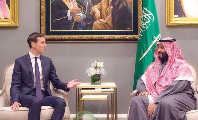 Jared Kushner, gendre de Trump, et Mohammed bin Salman