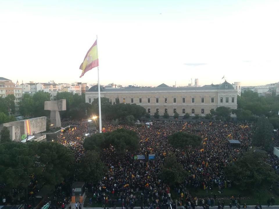 26 avril, Madrid : Meeting de fin de campagne électorale de Vox