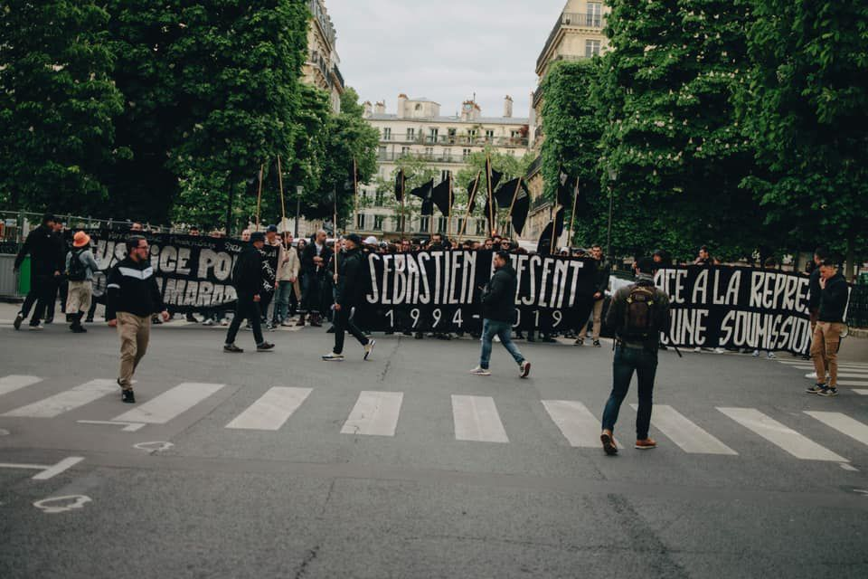 Manifestation 2019 du c9m à Paris