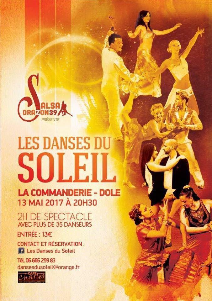 Danse du Soleil à la commanderie de Dole le 13 mai 2017