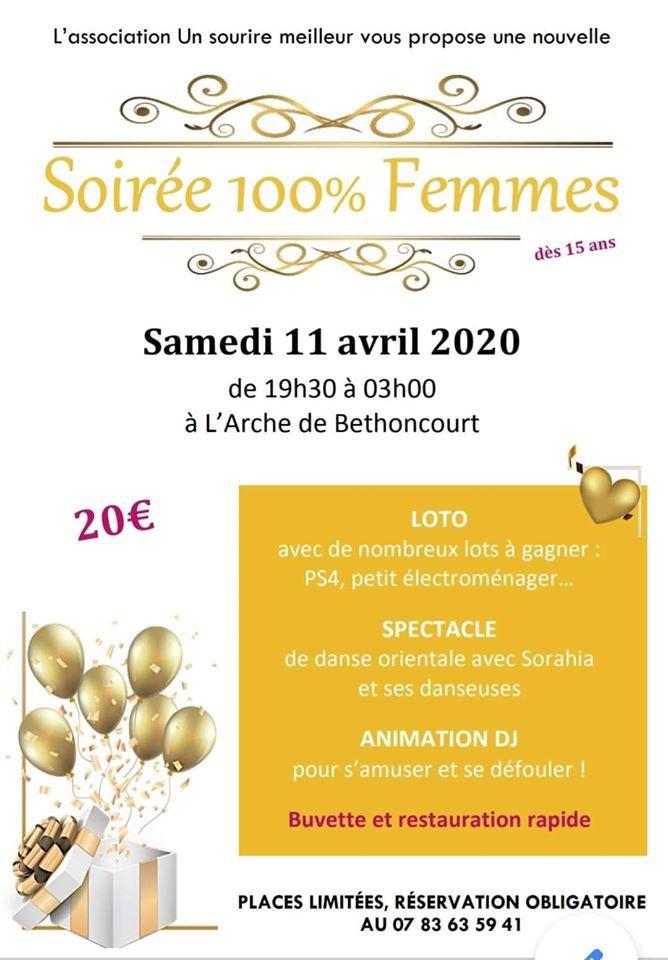 Soirée orientale à Béthoncourt le 11 avril 2020