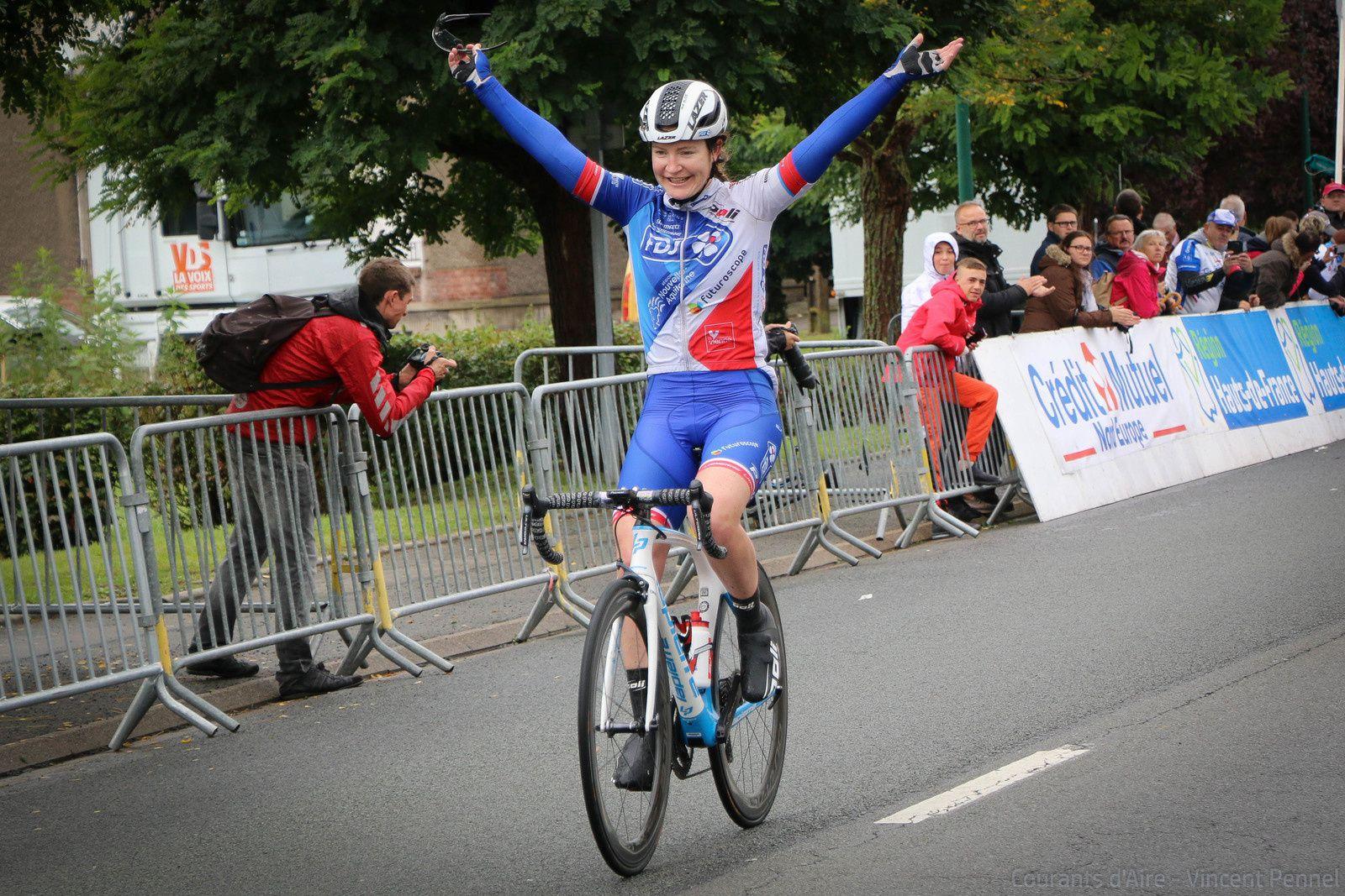 GP d'Isbergues féminin - Lauren Kitchen ouvre le palmarès