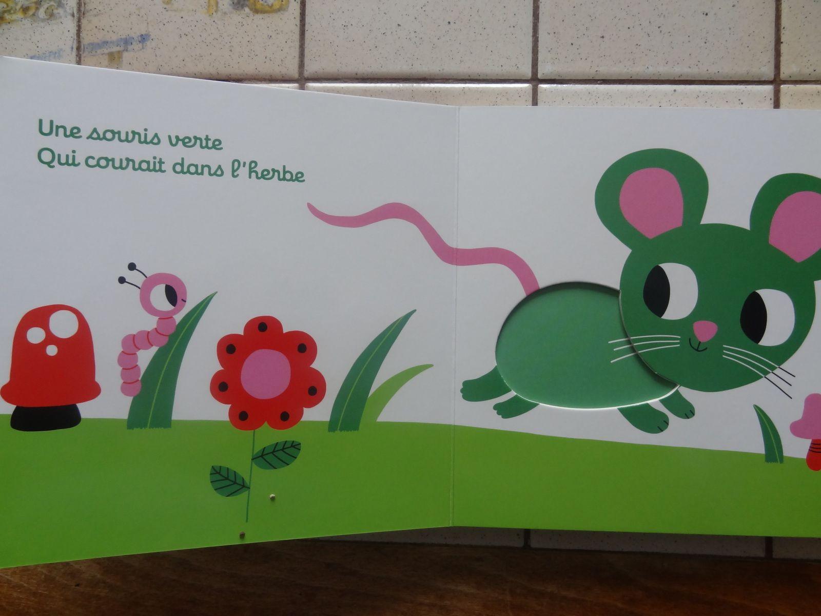 Une souris verte - ill. de Marion Billet
