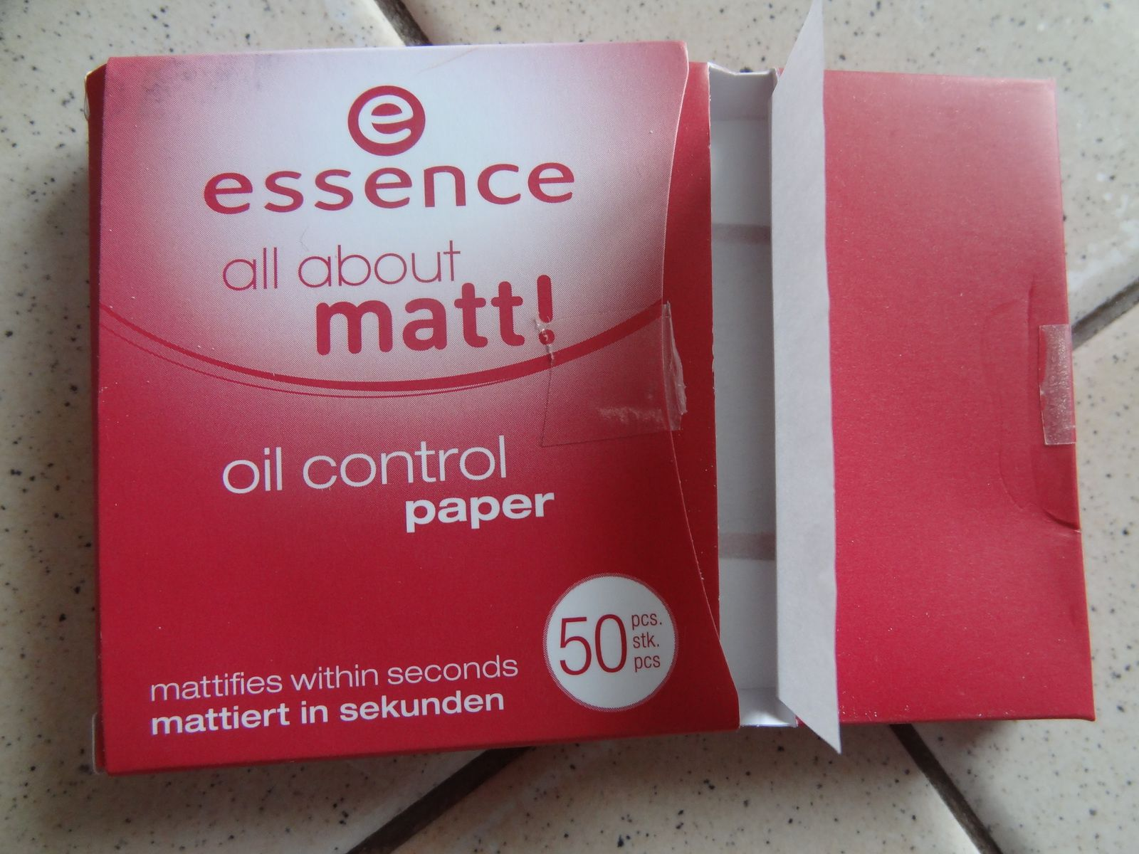 Papiers matifiants Essence