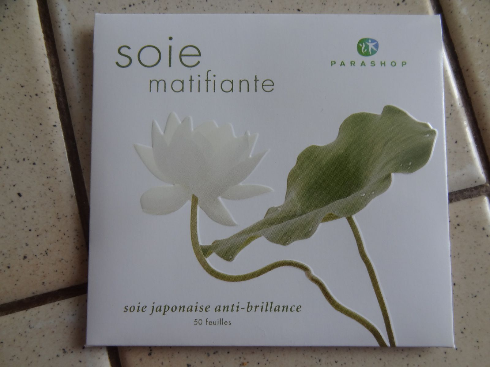 Soie matifiante Parashop