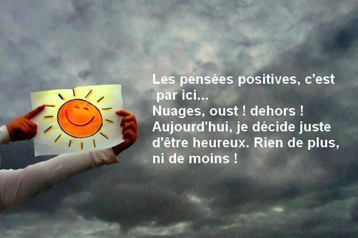 Être positif guérit...