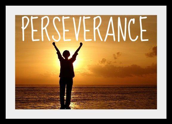 Persévérons et nous gagnerons...