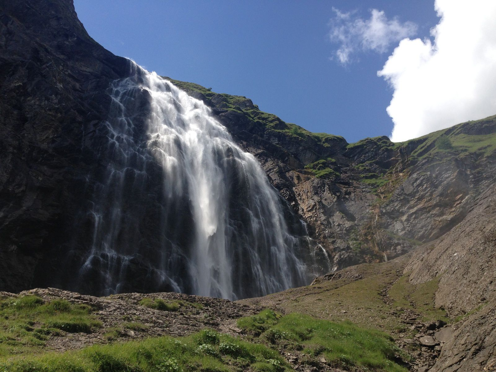 mardi  18 juillet: Cascade de l'Engstligen à Adelboden