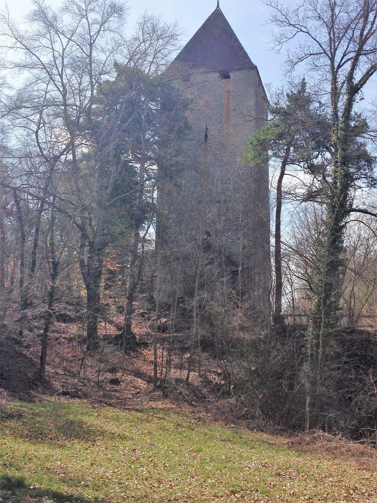 Vue magnifique depuis le Haut de la tour.