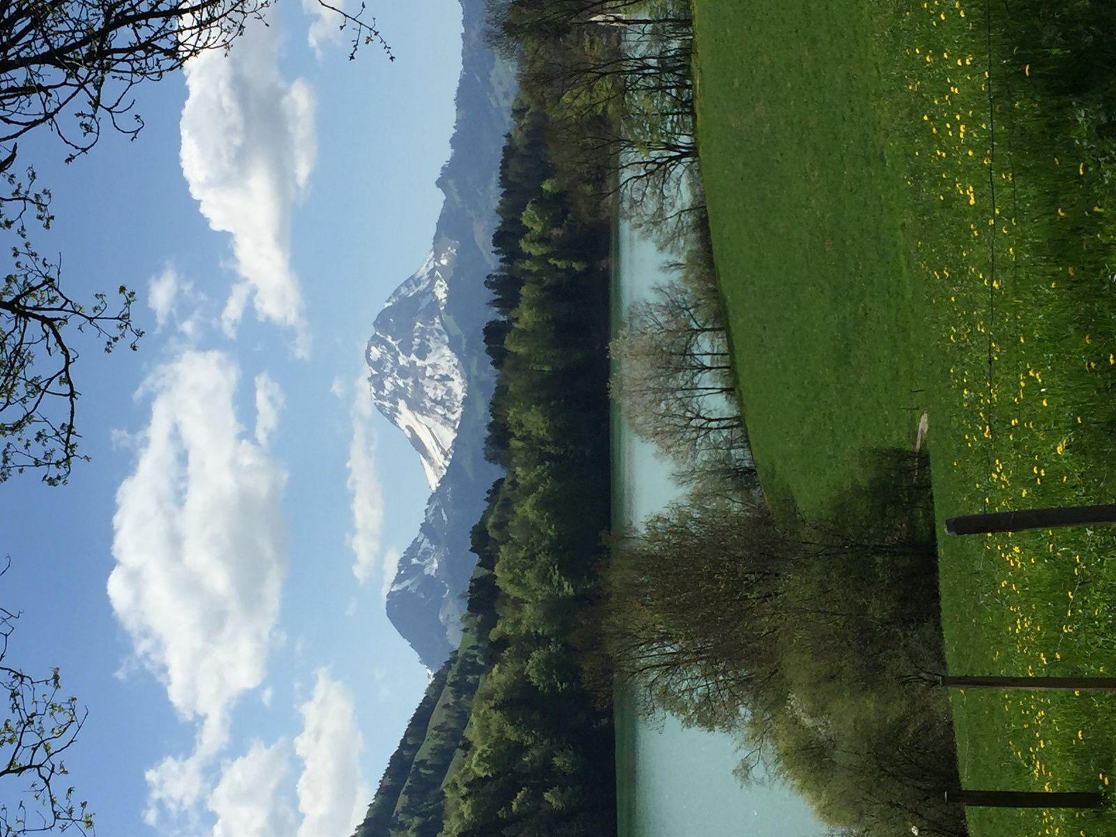 Mardi 17 Avril : De St St Cierges, Bercher à Boulens. Mardi 24 avril  Le tour de lac de Montsalvens