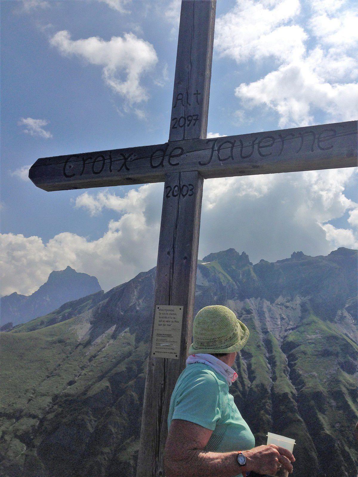 Mardi 24 juillet: Croix de Javerne ,cabane de la tourche