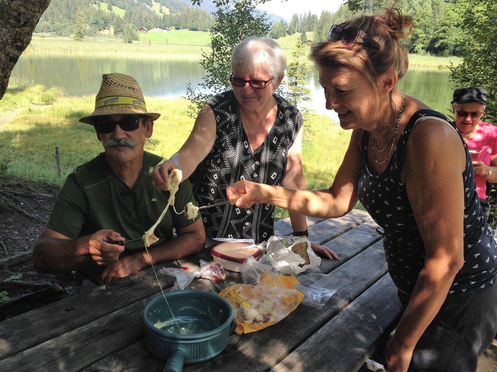 Mardi 21 et mercredi 22 Août: Course de 2 jours à la cabane de Gelten