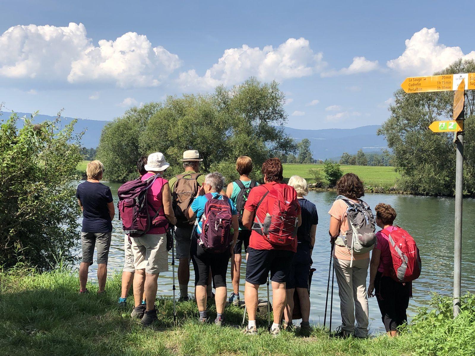 Mardi 27 Août : Rando lacustre et Mont Vully