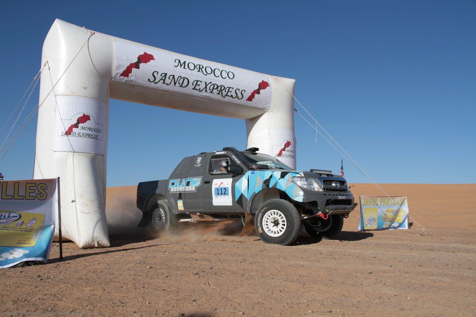 Pour suivre le Morocco Sand Express en direct