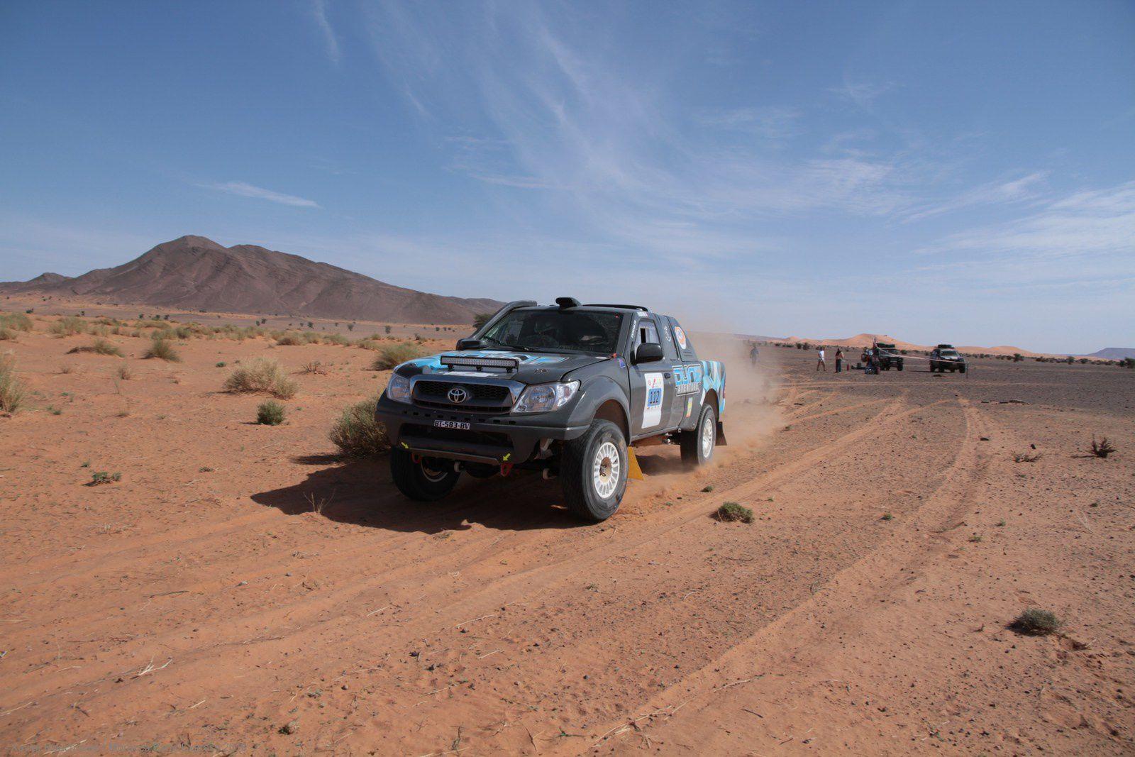 "ETAPE 3 du Morocco Sand Express 2016; "" la marathon"""