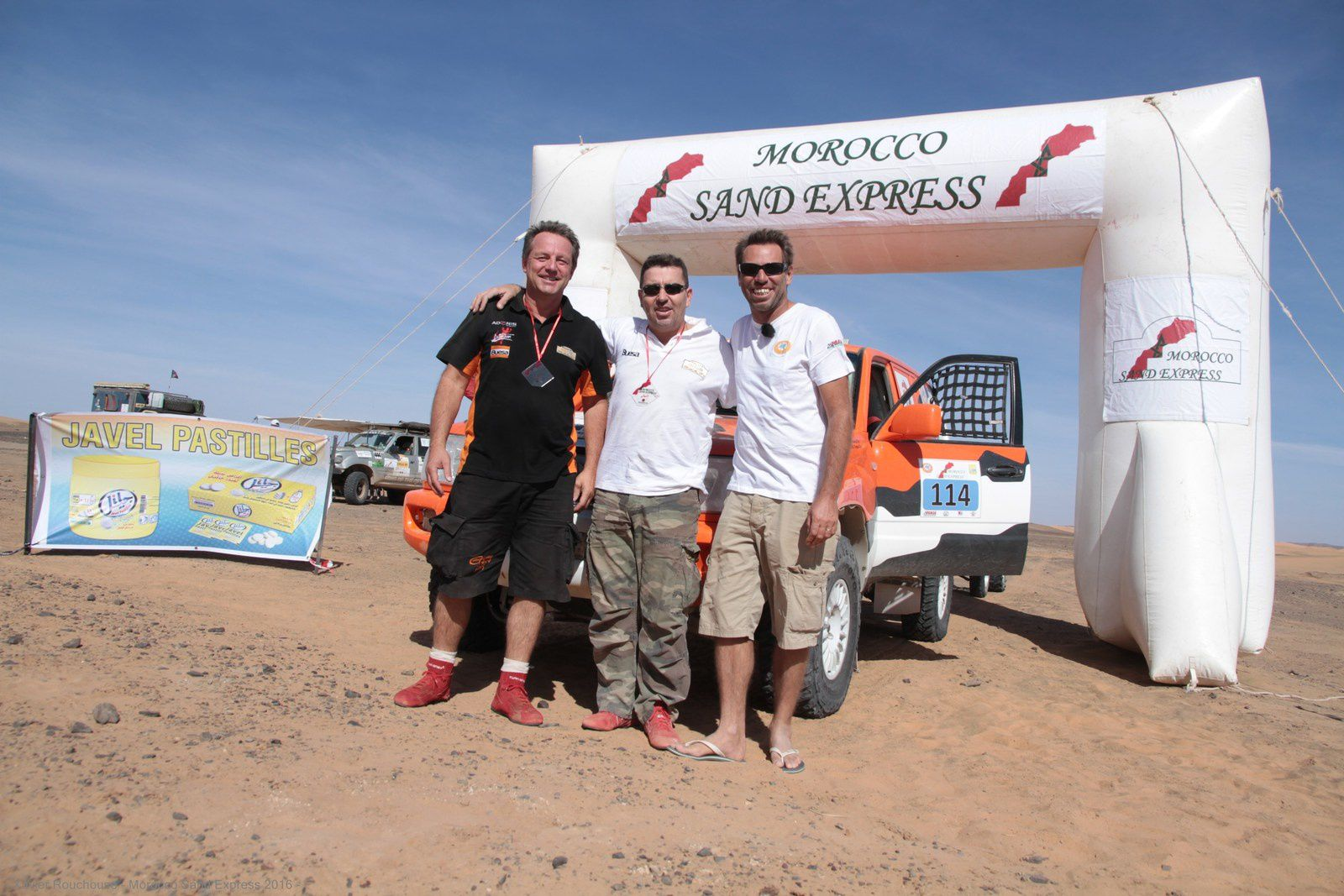 Le finish de la 4è édition du Morocco Sand Express 2016