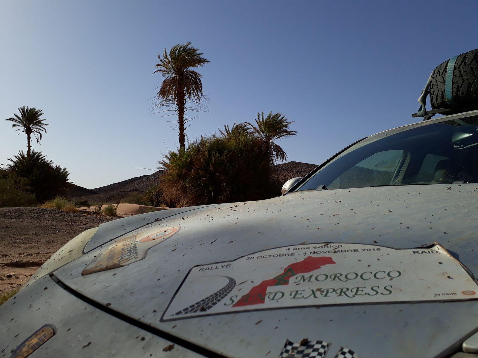 Le parcours du Morocco Sand Express 2017 et des solutions de transport