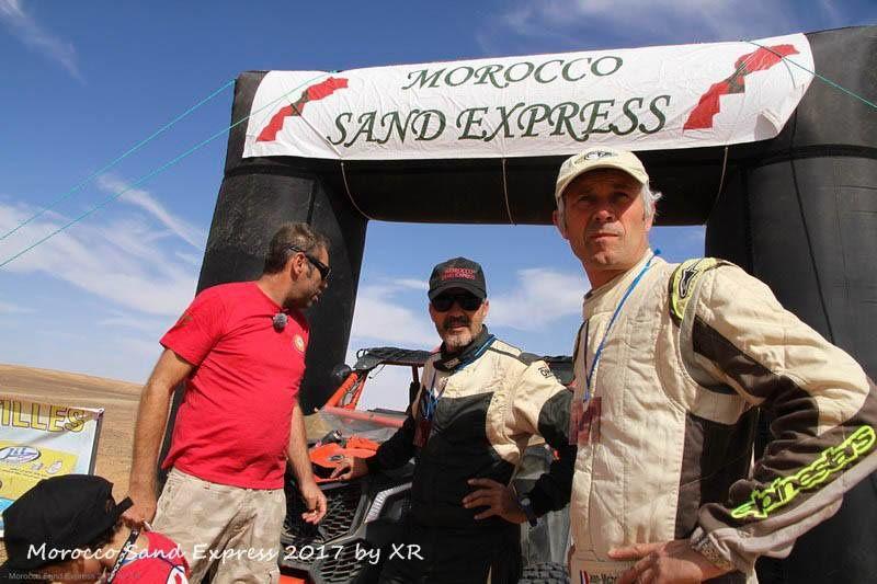 Le Merzouga GP, le finish et une belle victoire pour Fred Pitou et Jeanmi Polato