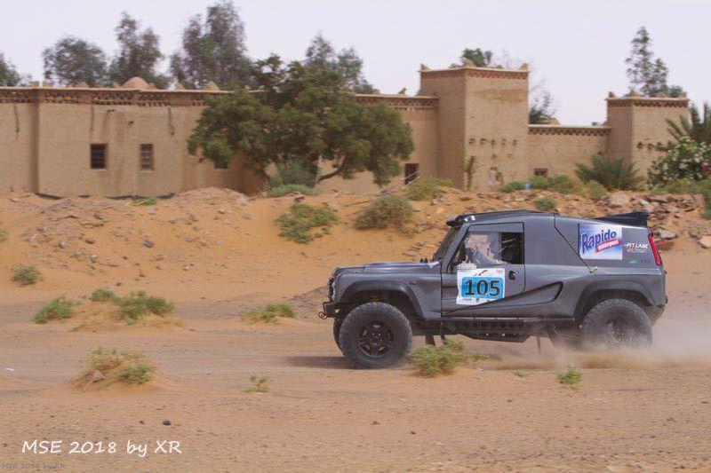 Le lien pour le direct et les résultats du prologue du Morocco Sand Express