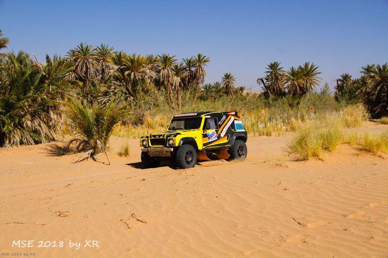 Les palmeraies, 200 kms de désert pour la première étape 6è édition du Morocco Sand Express