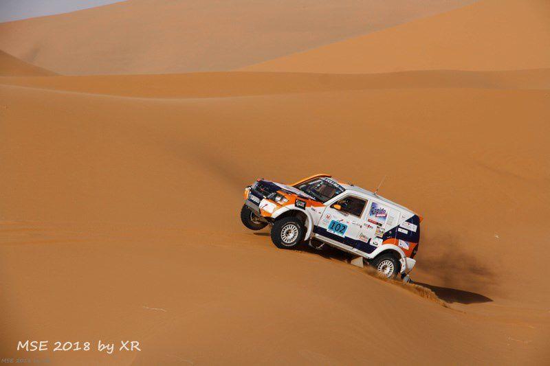 Etape 3,Morocco Sand Express 2018, Les cols