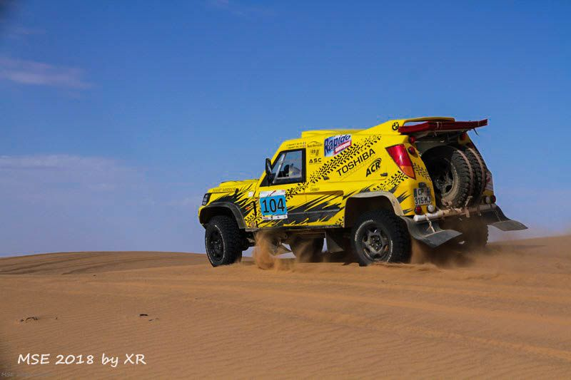 Etape 5,le Merzouga GP, le finish du Morocco Sand Express