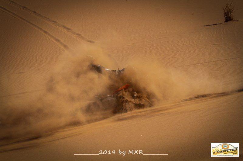 Objectifs Dunes, étape 3, M'hamid Express 2019. de très belles dunes...