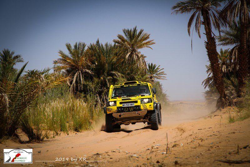 Etape 1 du Morocco Sand Express 2019