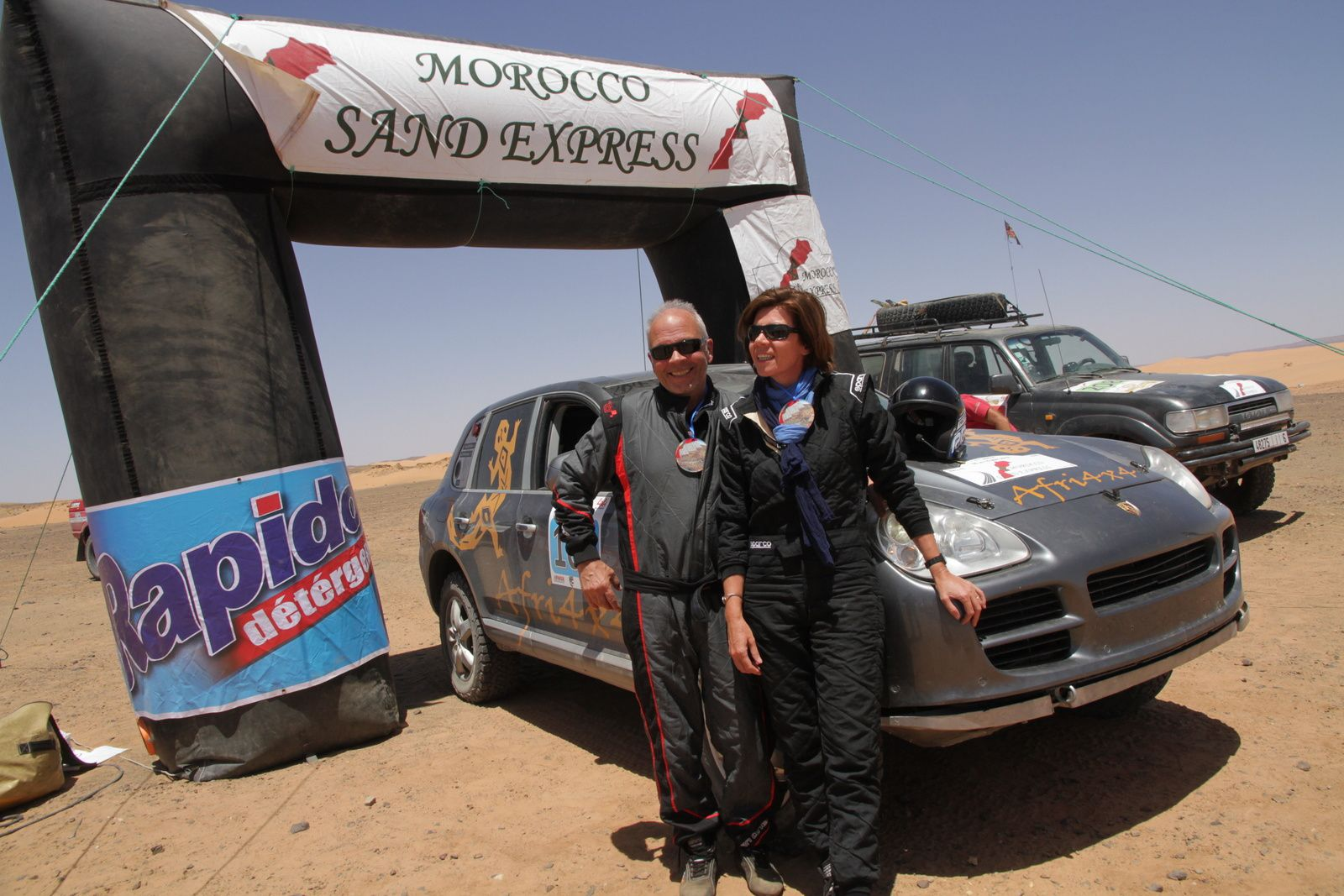 Morocco Sand Express 2019, Gueules de Champions