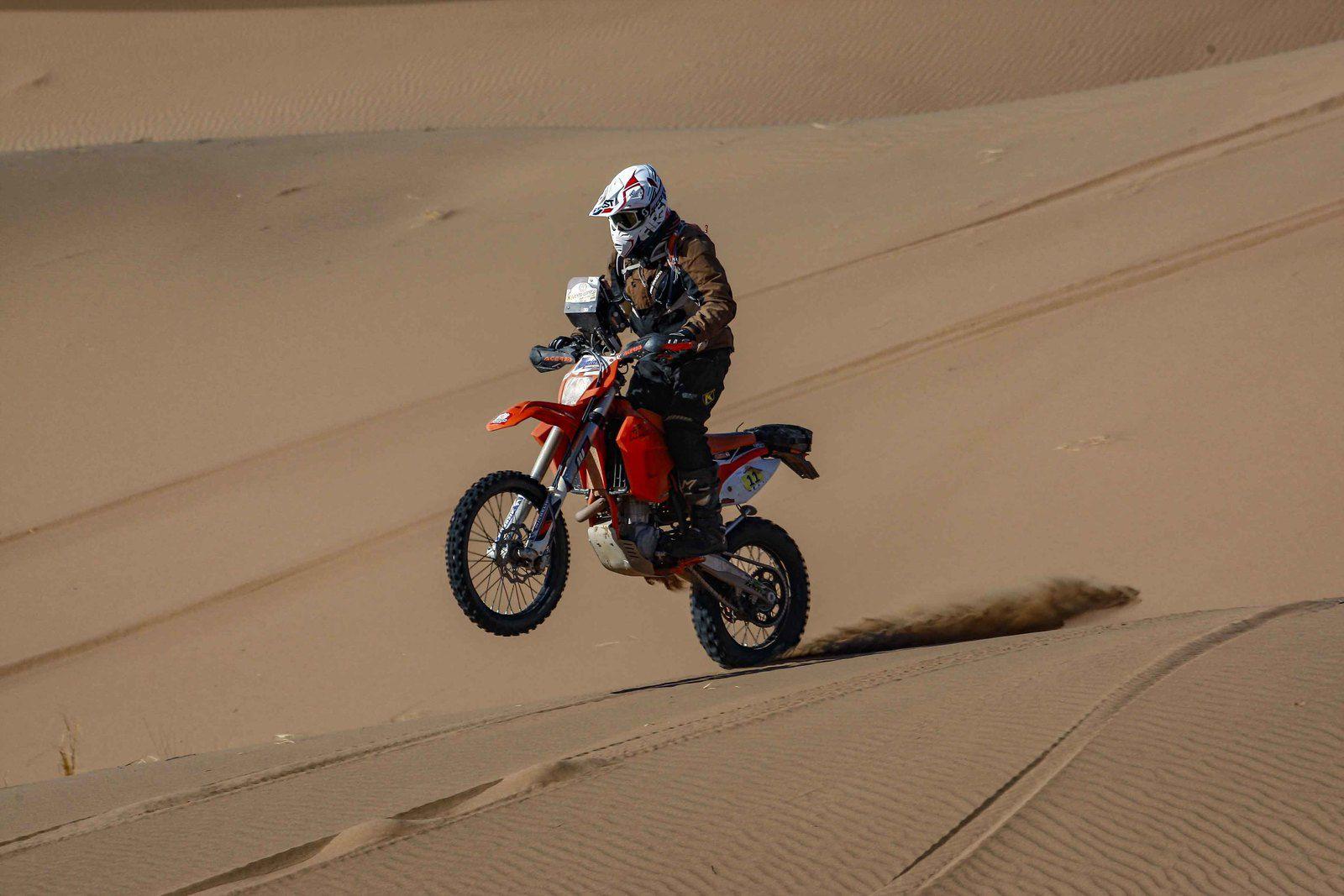 Communiqué n°5 , étape 4, On a roulé sur les dunes, M'hamid Express 2020