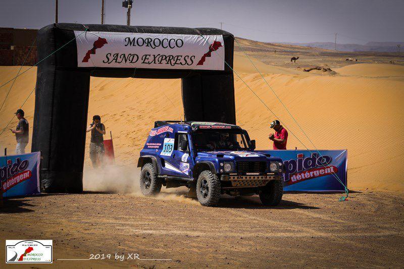 Le Morocco Sand Express du 25 au 30 octobre 2020