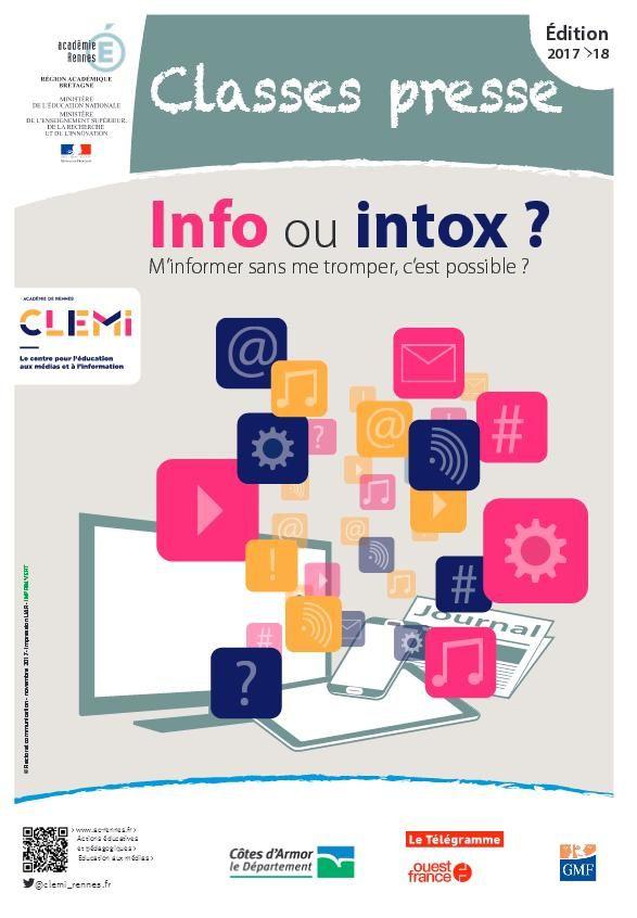 [Collège 4e] Classes presse 2017/2018 et EPI