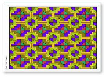 Carnet de Coloriages / Niveau 3 (difficile)