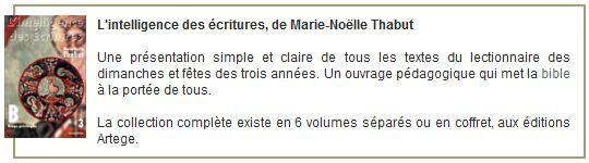 Commentaires de Marie-Noëlle Thabut, année liturgique B, 2e dimanche de l'Avent (7 décembre 2014)