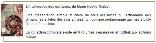 Commentaires de Marie-Noëlle Thabut, année liturgique B. 4e dimanche de l'Avent (24 décembre 2017)
