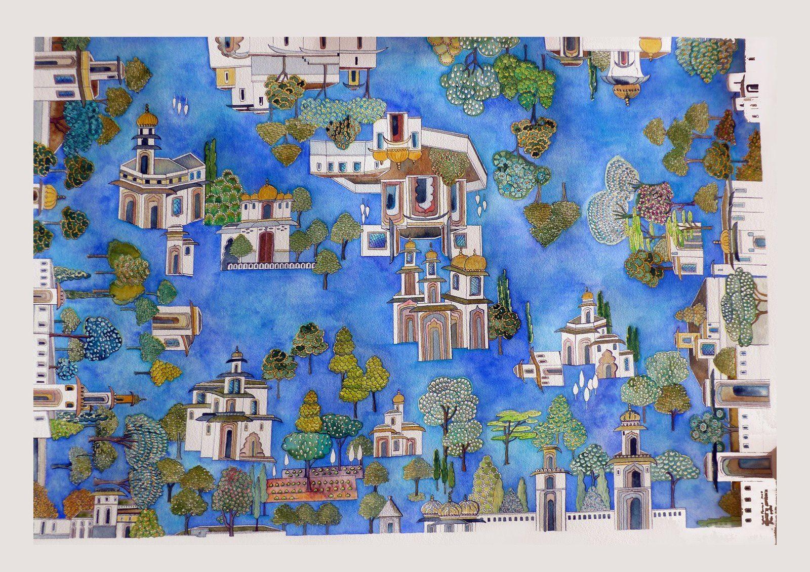 Journées Européennes du Patrimoine : rencontre avec Sylvie Perrot, artiste aquarelliste
