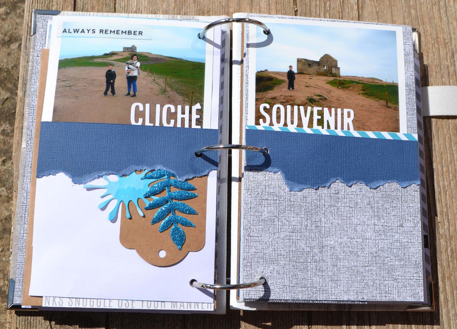 mini album maritime de Julie Blanc !