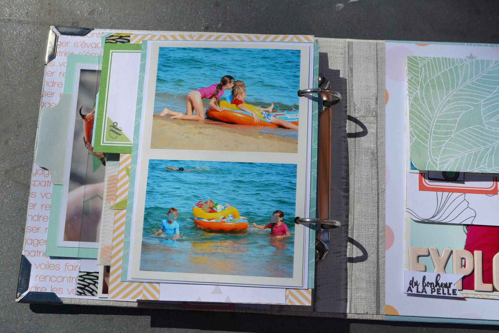 mini album summer de julie Blanc!