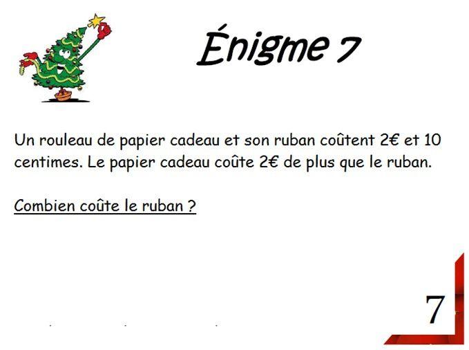 Enigme 7