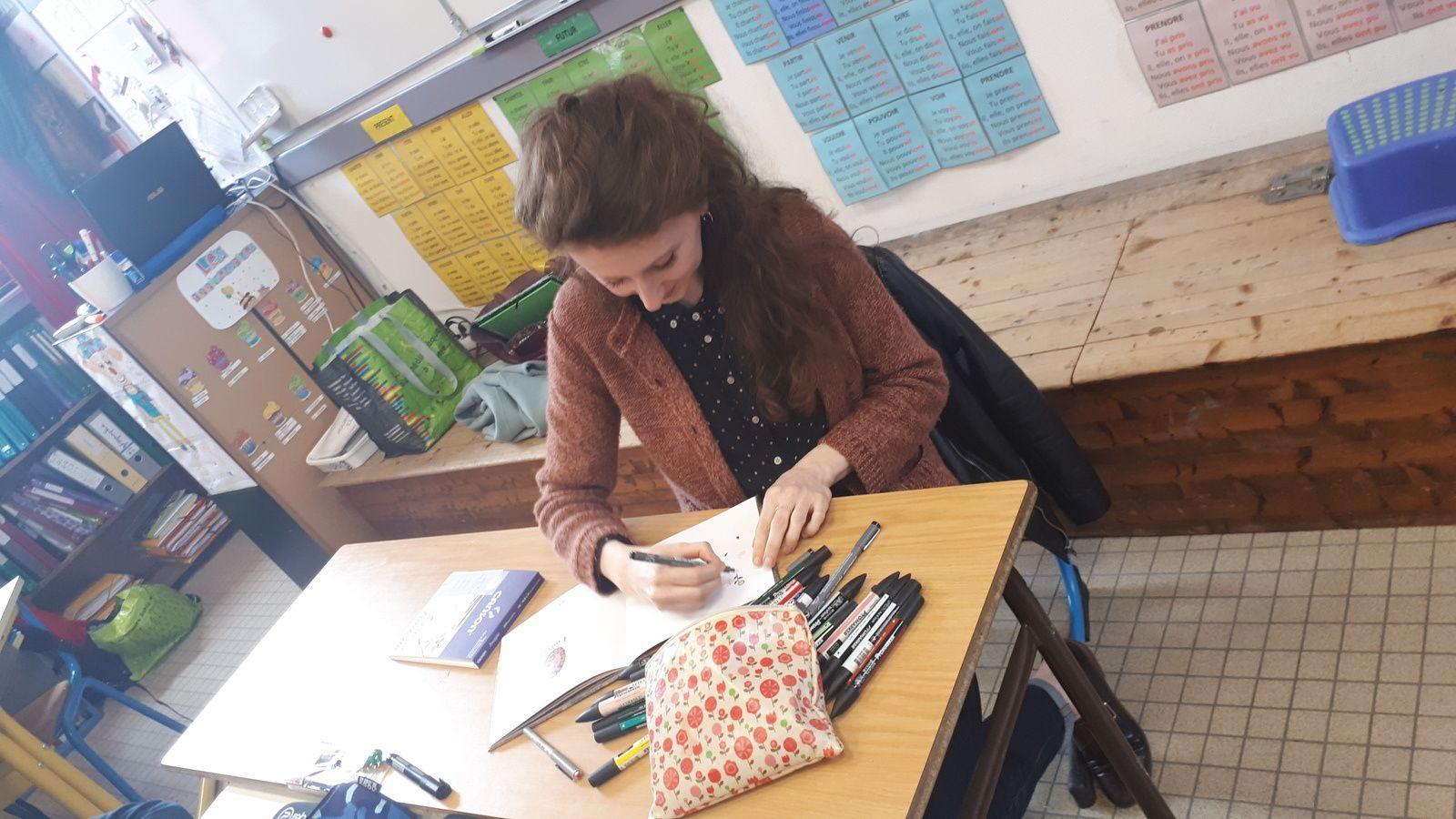 Biennale du livre et rencontre avec Fanny Ducassé.