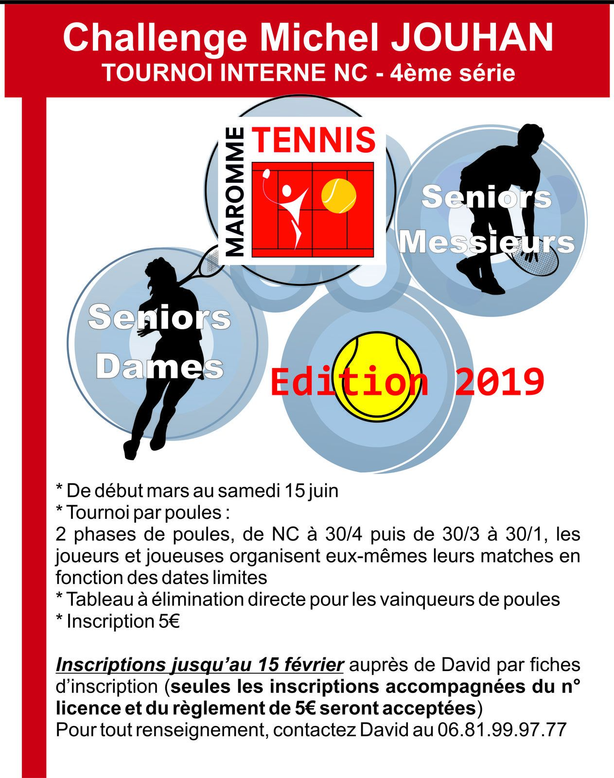 Tournoi interne 2019