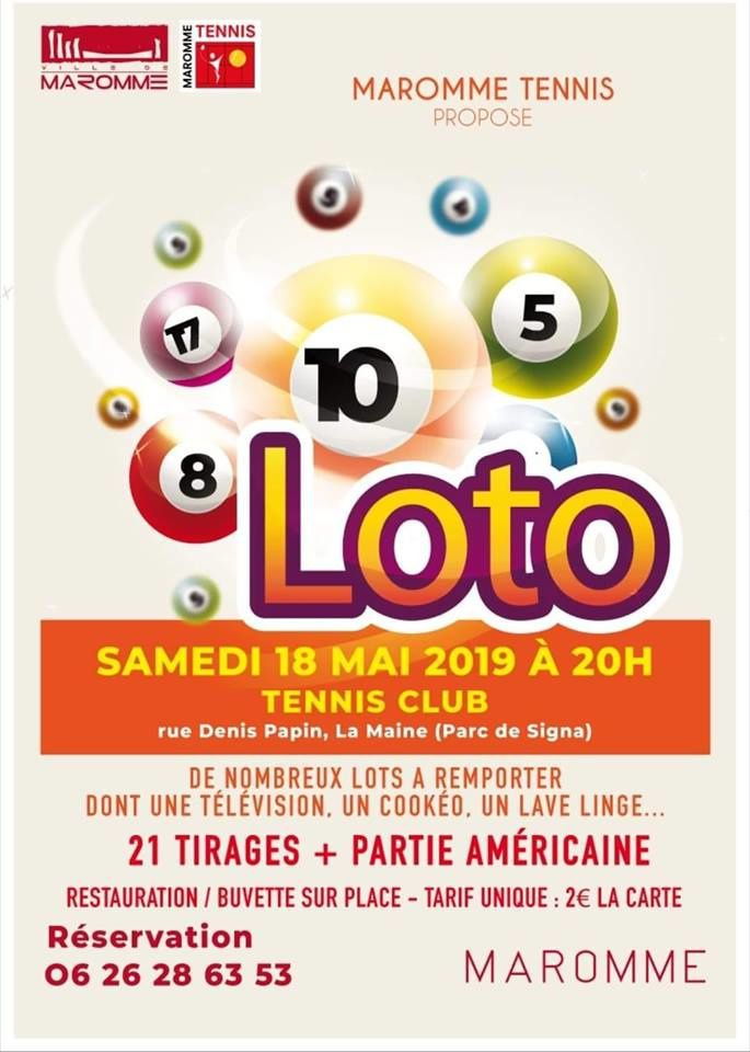 Maromme Tennis LOTO