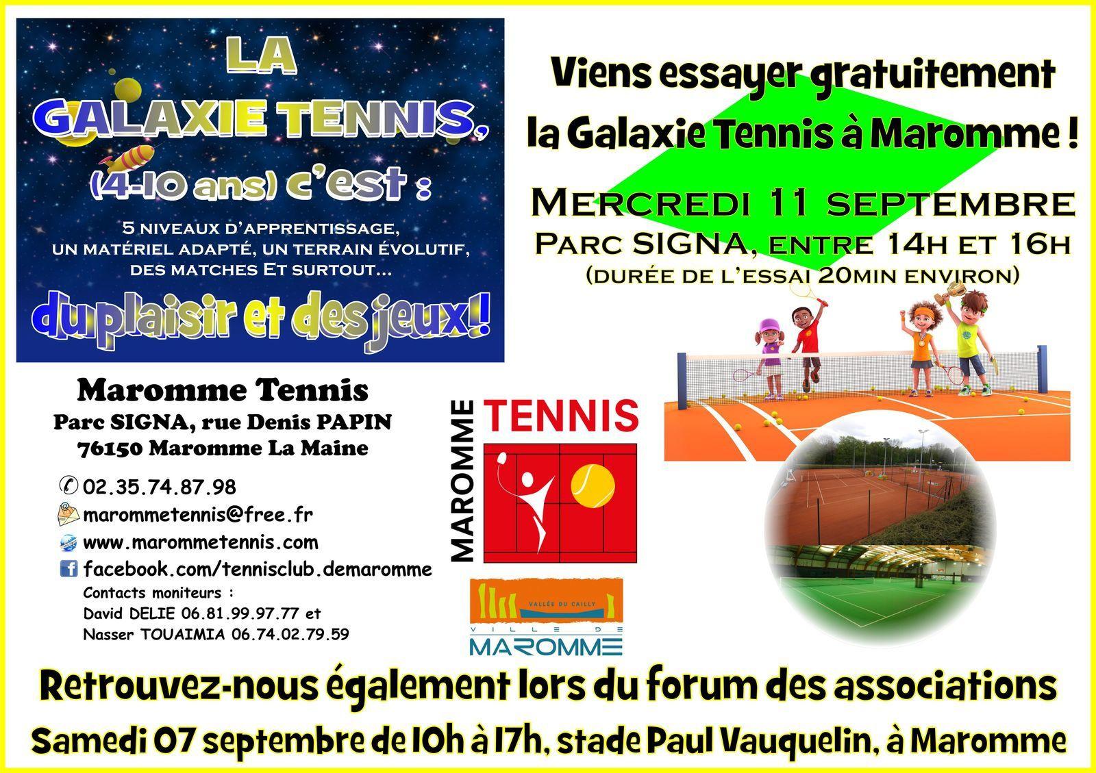 Viens découvrir la Galaxie Tennis !