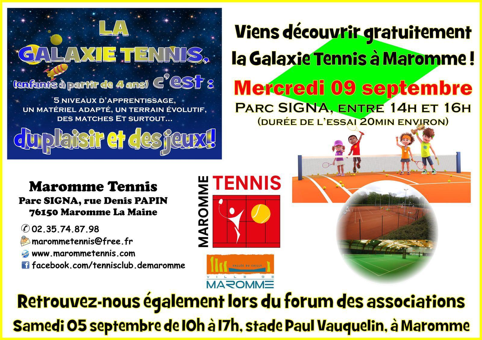 Essais Galaxie Tennis