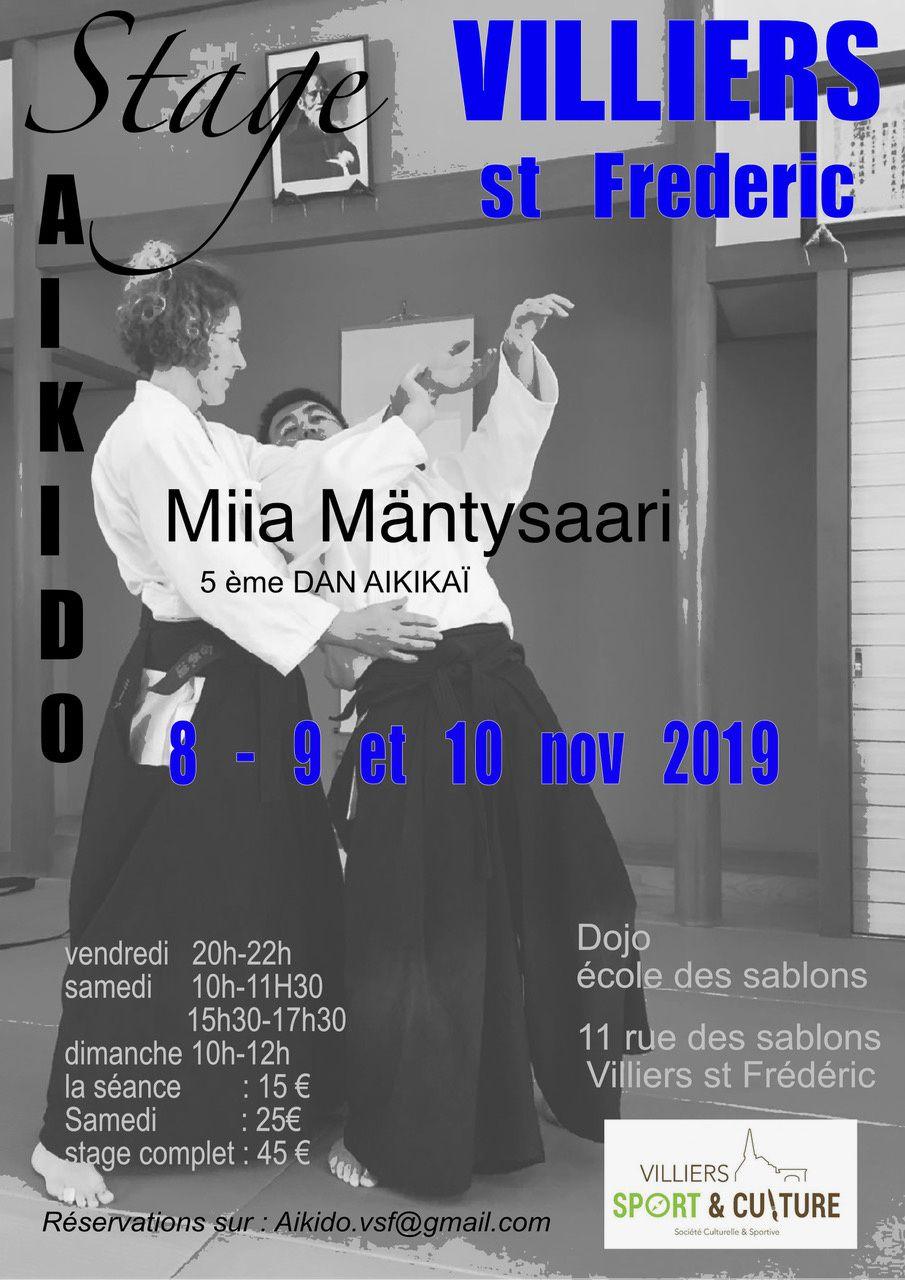 Stage avec Miia Sensei