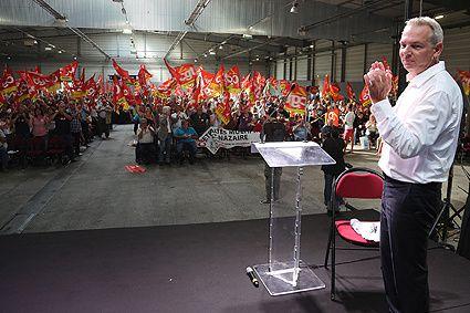 Meeting CGT de rentrée à St Nazaire Photo P. MOREL (image-in@patcatnats.fr)